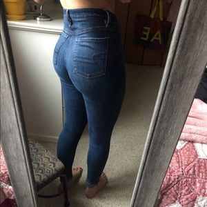 High rise size 2 regular American Eagle jeans